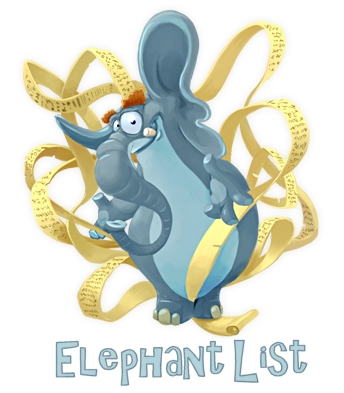 elephantlist logo LIST OF ACRONYMS. ALARA   As Low As Reasonably Achievable